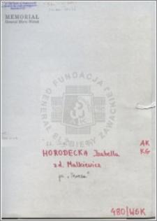 Horodecka Izabella