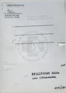 Huczewska Adela