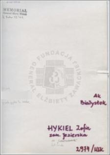 Hykiel Zofia