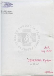 Idzikowska Krystyna