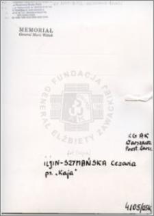 Iljin-Szymańska Cezaria