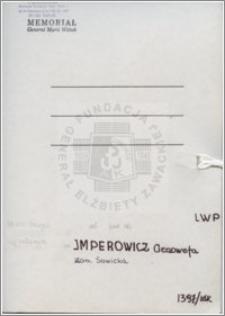 Imperowicz Genowefa