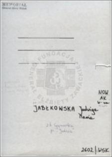 Jabłkowska Jadwiga Maria