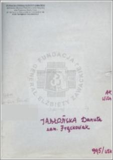 Jabłońska Danuta