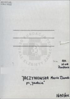 Jaczynowska Maria Danuta