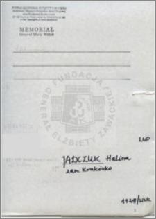 Jadczuk Halina