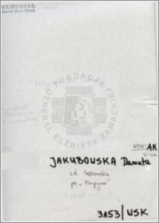Jakubowska Danuta