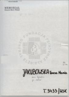 Jakubowska Teresa Maria