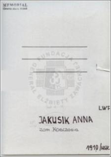 Jakusik Anna