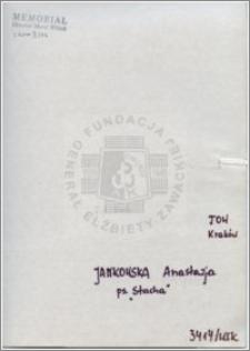 Jankowska Anastazja