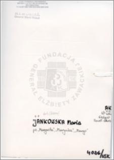 Jankowska Maria
