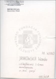 Jankowska Wanda