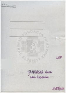 Janowska Anna