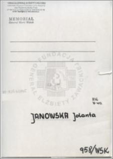 Janowska Jolanta