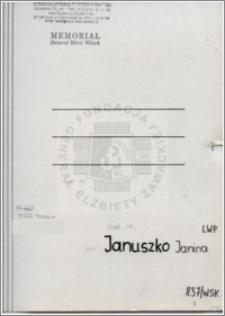 Januszko Janina