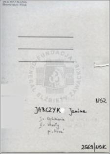 Jarczyk Janina