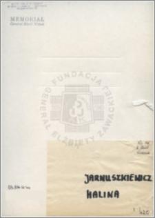 Jarnuszkiewicz Halina