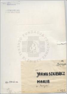 Jarnuszkiewicz Maria
