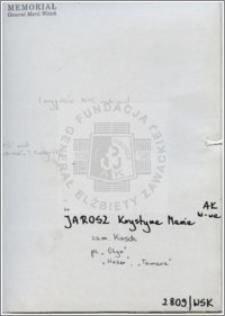 Jarosz Krystyna Maria