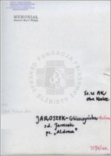 Jaroszek-Gliszczyńska Halina