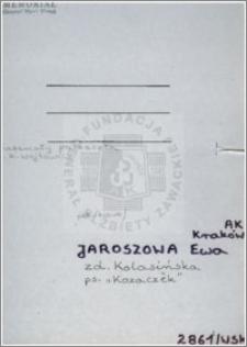 Jaroszowa Ewa