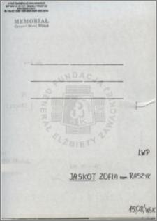 Jaskot Zofia