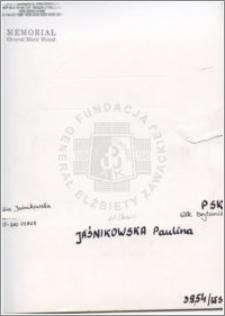 Jaśnikowska Paulina