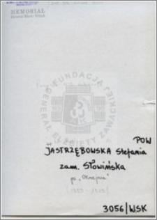 Jastrzębowska Stefania
