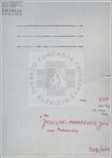 Jaszczyk-Makarewicz Julia