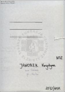 Jaworek Krystyna