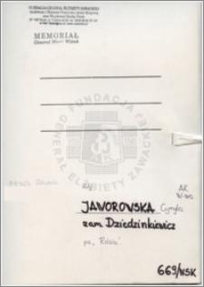 Jaworowska Cyryla