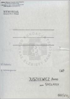 Juszkiewicz Anna