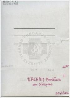 Kachnij Bronisława