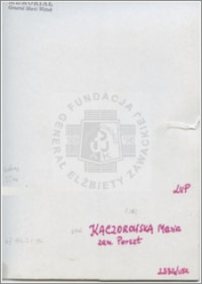 Kaczorowska Maria