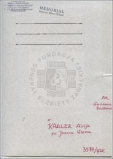 Kadler Alicja