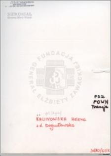 Kalinowska Helena