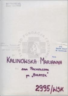 Kalinowska Marianna