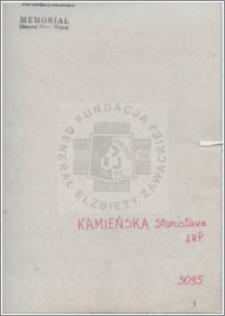 Kamieńska Stanisława