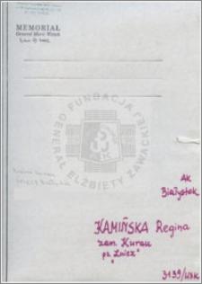 Kamińska Regina