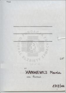 Kankiewicz Maria