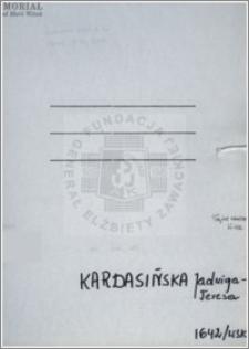 Kardasińska Jadwiga Teresa