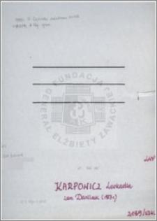 Karpowicz Leokadia