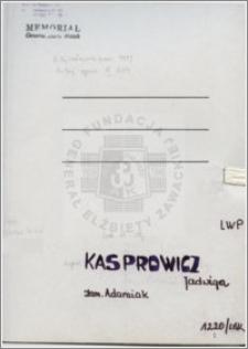 Kasprowicz Jadwiga