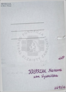 Kasprzak Marianna