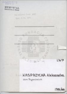 Kasprzycka Aleksandra