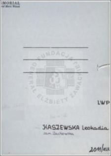 Kaszewska Leokadia