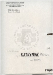 Kataryniak Wiktoria
