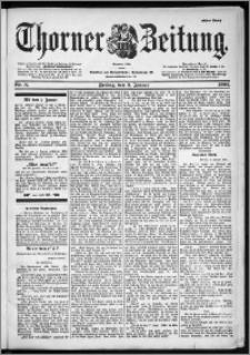 Thorner Zeitung 1901, Nr. 3 Erstes Blatt