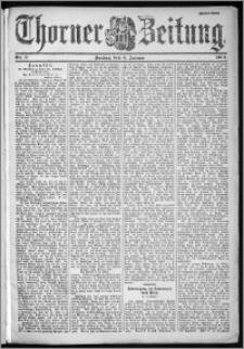 Thorner Zeitung 1901, Nr. 3 Zweites Blatt