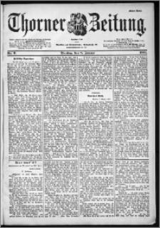 Thorner Zeitung 1901, Nr. 6 Erstes Blatt